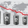 Oil prices fall due to China's low index, slow growth rate